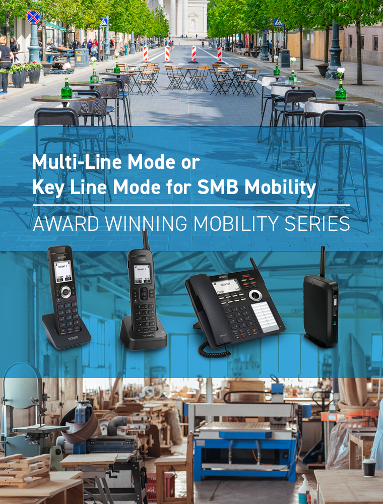 Multi-Line Mode or key Line Mode for SMB Mobility